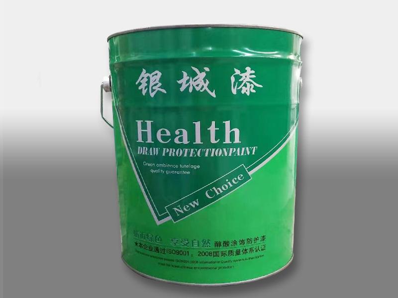 银城醇酸涂饰防护漆